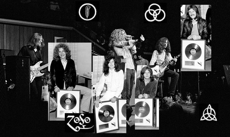 cnарые записи Led Zeppelin