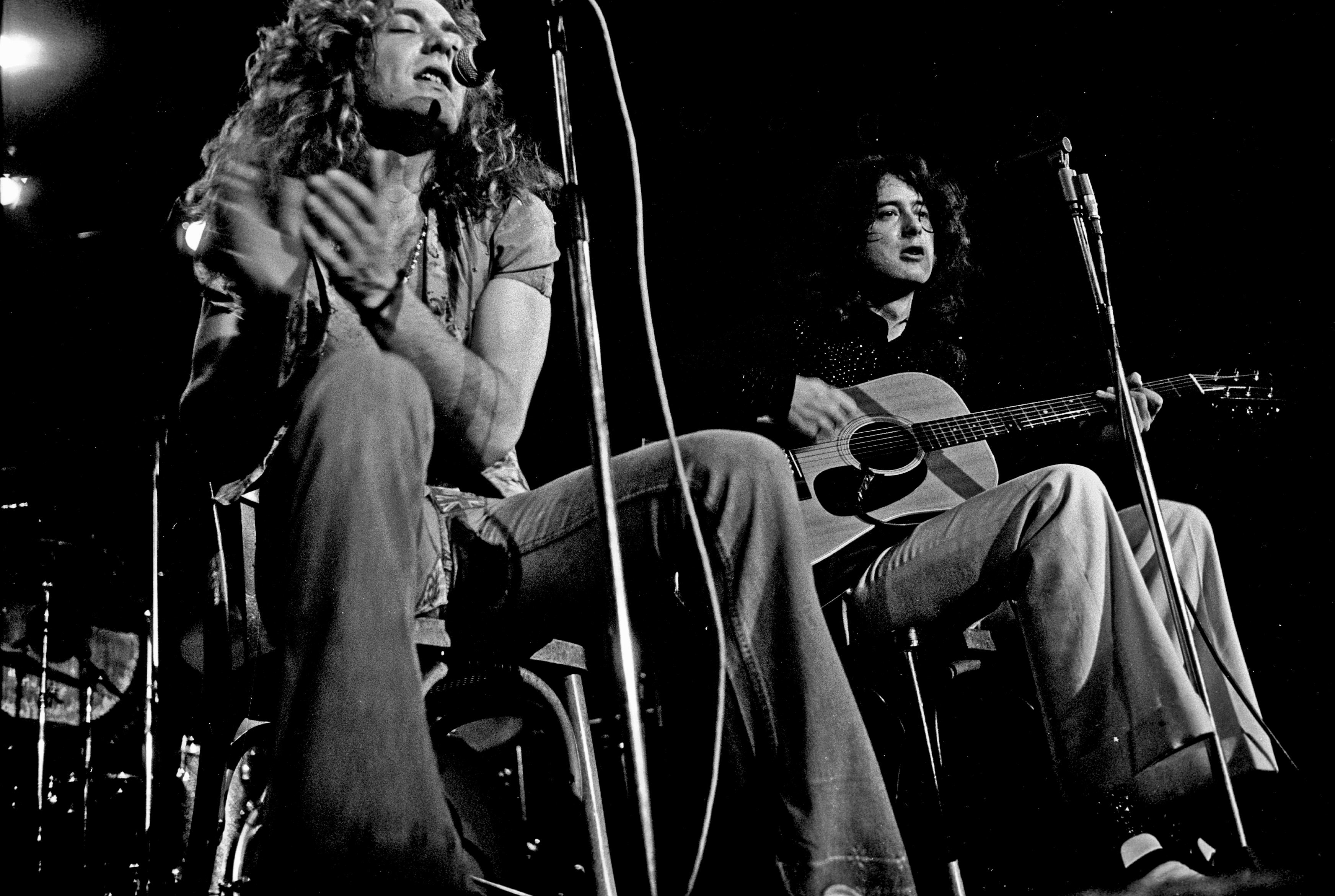 Led Zeppelin аккустика